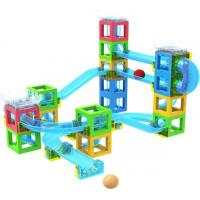 Buy cheap STEM Toy Magnetic Block with Running Ball from wholesalers
