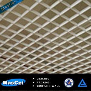 Buy cheap Панель потолка клетки внутренней декоративной алюминиевой решетки залы офиса открытая product