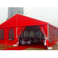 Buy cheap Chinese Style Red Outdoor Party Tents / Outside Canopy Tent For Wedding Events  product