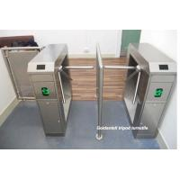 China Bi - Directional Coin Operated Turnstiles Access Entry Systems For Public Toilets on sale