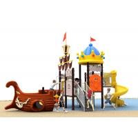 Buy cheap Climbing Customized Size Childrens Plastic Slide Set With Strawberry Roof product