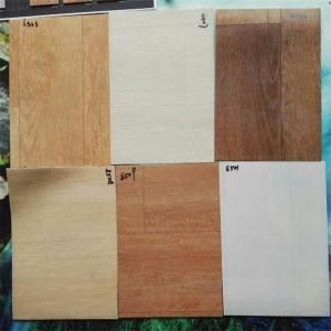 Buy cheap Indoor PVC Floor Covering , Wood Look PVC Vinyl Floor Tiles Thickness 3mm product