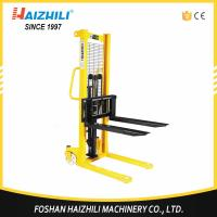 1000kg Hydraulic Hand Forklift / 1 Ton Hand Lifter Stacker With CE Certification