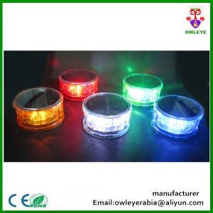 China 360 Degree LED Flashing Solar Magnetic Emergency Strobe Lights For Car on sale