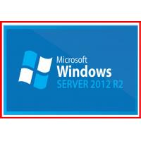 China Server standard 2012 r2 Microsoft Windows Server 2012 Retail Box 5 User CALS on sale