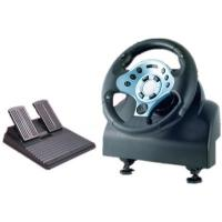 Buy cheap Video Game Steering Wheel Compatible P3 Win98 / ME / 2000 / XP product