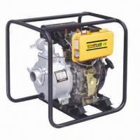 Buy cheap 211cc Diesel Water Pump with 4.2HP/3600rpm Maximum Output Port Diameter of 2-inch product