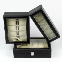 Buy cheap Leatherette Jewelry Collection Watch Display Box Jewellery Case product