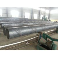 Buy cheap Spiral Welded SSAW Steel Pipe Anti Corrosion / Anti Rust Paint For Water Engineering product