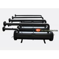 Buy cheap Shell and Tube Refrigeration Condenser Shell and Tube Heat Exchanger Seawater Condenser product