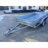 10x5 Hot Dipped Galvanized Tandem Trailer 3200KG With Mechanical Disk Brakes