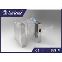 Buy cheap Anti - Tailgating Flap Barrier Turnstile With Durable DC Brushless Motor product