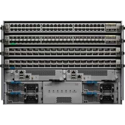 3 Layers Cisco Nexus 9504 Switch , Cisco Nexus 9504