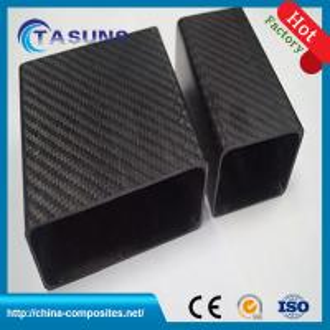 China Carbon Fiber Rectangular Square Tubes, 3K Carbon Fiber Square Tubes, Square carbon tubes, on sale