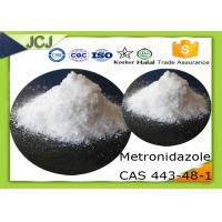 Buy cheap Pharmaceutical Raw Powder Metronidazole CAS 443-48-1 for Inhibit bacteria product
