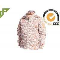 Buy cheap Warm Military Tactical Jackets Digital Desert Color , Winter Law Enforcement Outerwear product