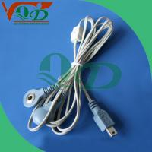 Fils de connexion en soie d'unité de Dix des biens, mou et flexible de PVC +Copper d'aluminium de l'intensité la plus normale,