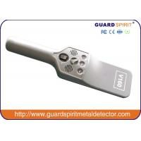 Buy cheap Portable Security Hand Held Metal Detector For Checkpoint Vibbration& Led Alarm product