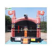 Commercial Grade Pirate Inflatable Bounce Houses Kids Jumping Castles
