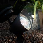 Buy cheap 2 Piece outdoor Solar led spotlight kits for garden rockery lighting product