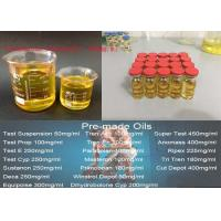 Buy cheap Trenbolone Enanthate Light Yellow Oils Pre-Mixed Injection , 100mg/ml Trenbolone Enanthate CAS 472-61-546 product