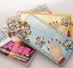 Buy cheap new female long  zipper wallet,damond wallet product