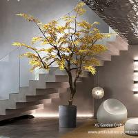Buy cheap Autumn Style Artificial Maple Tree Japanese Hotel Coffee Shop Decoration product