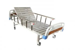Buy cheap Cheaper And Good Quality Customized Color Semi Fowler Bed Single Crank Manual Medical Hospital Bed product