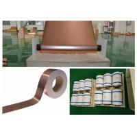 Buy cheap High Precision Ultra Thin Copper Foil Under 0.025um Roughness SGS Approval product