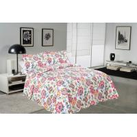 Buy cheap Cockscomb Flower Double Bed Quilt Covers , Microfiber Fabric Quilt Cover Sets product
