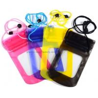 Buy cheap 0.3mm Vinyl Small Waterproof Case Light Weight With High Frequency Welded Technics product