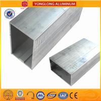 Buy cheap White Anodized Machined Aluminium Profiles For Construction Material High Structural Stability product
