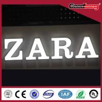 Buy cheap arcylic vacuum forming chorme metal Channel Alphabet Letter Sign product