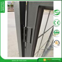 Quality China top supplier steel window design triple glazed windows double glass pane for sale
