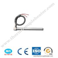 Buy cheap 200W 300W 400W 500W Single Ended Heating Resistance Rod Cartridge Heater With Thermocouple K product