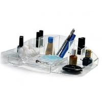 Quality Cosmetic Box Acrylic Organizer With Beautiful Shape for sale