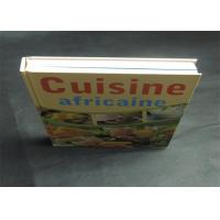 Buy cheap Health Note Book / Cook Book Printing Pantone Color A4 B5 Case Bound Spot UV product
