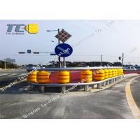 Buy cheap Highway Safety Roller Barrier EVA PU Polyurethane Material Eco Friendly product