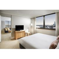 China Foshan Hotel Apartment Furniture Sets With Wood Veneer And Painting on sale
