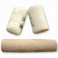 Buy cheap Elastic Bandage for Medical and Daily Use, Available in Bleached White product