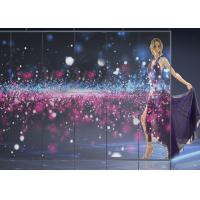 Buy cheap Indoor Transparent LED Screens For Logo Showing Excellent Flatness Seamless product