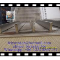 Buy cheap WEDGE WIRE PANEL / V WIRE FLAT PANEL / FLAT WEDGE WIRE PANEL / WIRE WRAPPED from wholesalers