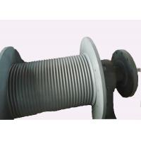 Buy cheap S355 J2G3 Spiral Grooving Hoist Barrel for Hydraulic Winch / Windlass product