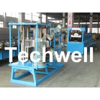 Buy cheap 17 Forming Stations Stationary K Span Roll Forming Machine With PLC product