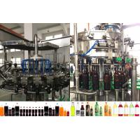 Buy cheap Rotary Washing Filling Capping Beer Bottle Filling Machine For Plastic / Glass Bottle product