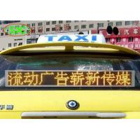 Buy cheap Super Seismic Car Led Sign Display , Anti - Static P6 Taxi Led Display Outdoor product