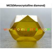 Buy cheap Single Crystal Synthetic Diamond product