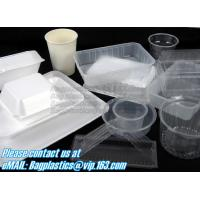 Buy cheap Airtight leakproof microwave custom rectangle plastic meal compartment bento lunch box food storage container with FOOD product