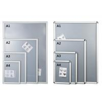 Buy cheap Silver Shining Wall Mounted Snap Lock Frames With One Picture Capacity product