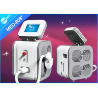 Portable 808 nm Diode Laser Hair Removal Equipment , 808nm 600w laser diode 14*14mm2